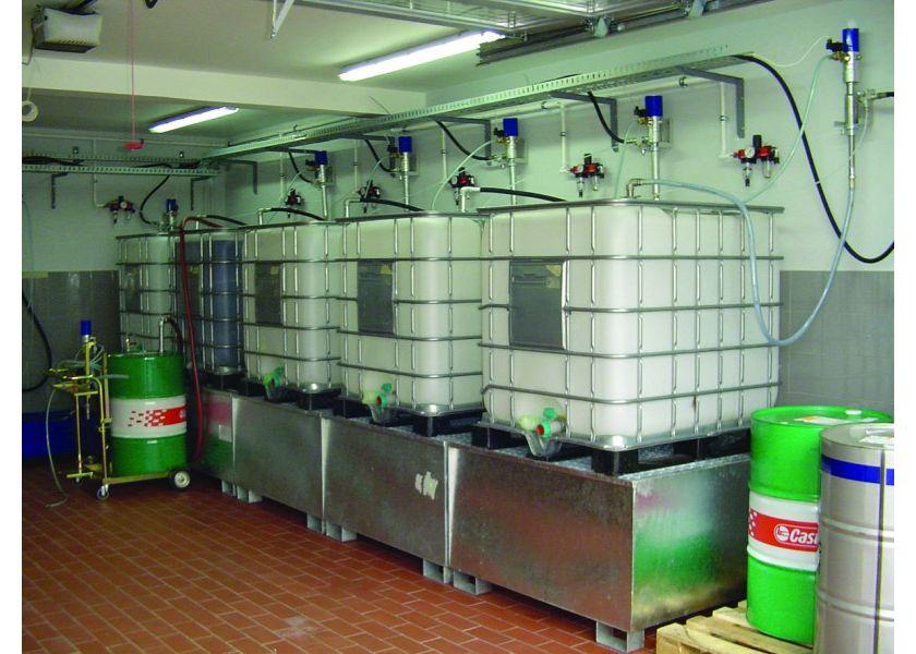 Centralizovan razvod ulja i antifriza