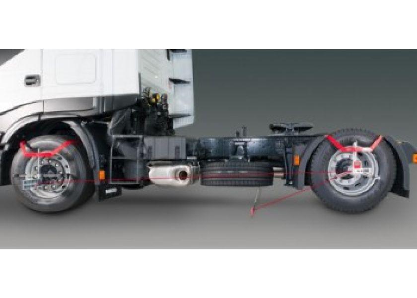 Laserski uređaj za kamionsku reglažu trapa