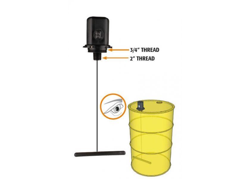Uređaj za merenje nivoa ulja u bačvama