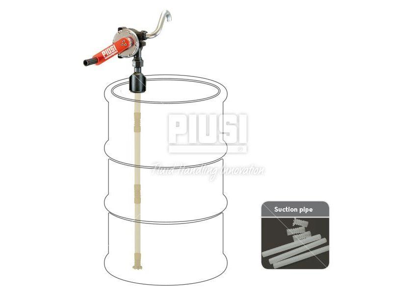 Ručna rotaciona pumpa bez creva