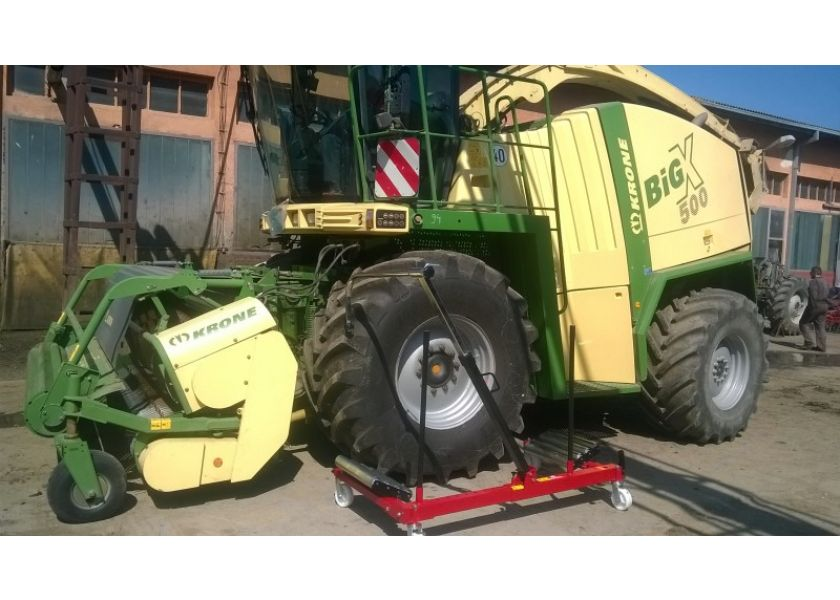 Kolica za montažu točkova nosivosti do 1200 kg - AGRO