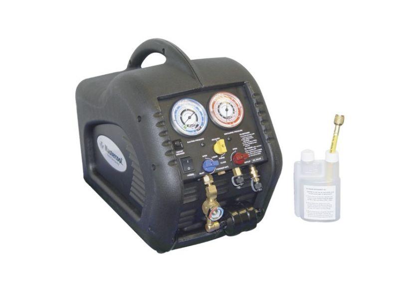 Aparat za sakupljanje gasa sa separatorom ulja