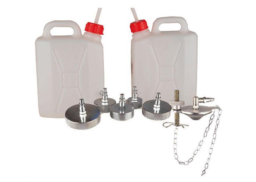 Kantice koje idu u kompletu sa uređajem za punjenje kočnih sistema uljem 1881 - 1887