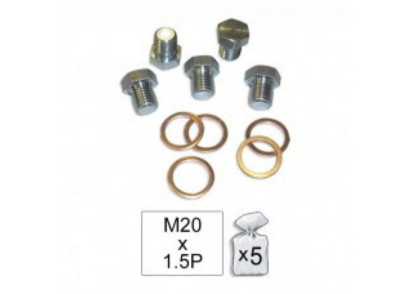 Delovi za popravku motorske kućice M20x1.5P