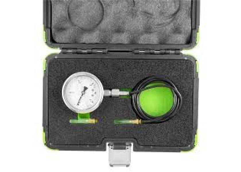 Merač pritiska turbine