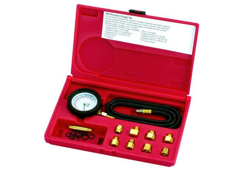 Alat za merenje pritiska ulja na benzinskim i dizel motorima