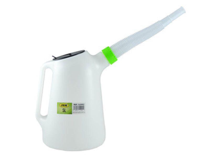 Plasticna posuda - menzura za pretakanje ulja 5 litra